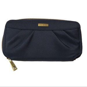"Travelon blue dressy wristlet wallet like new 8x5"""
